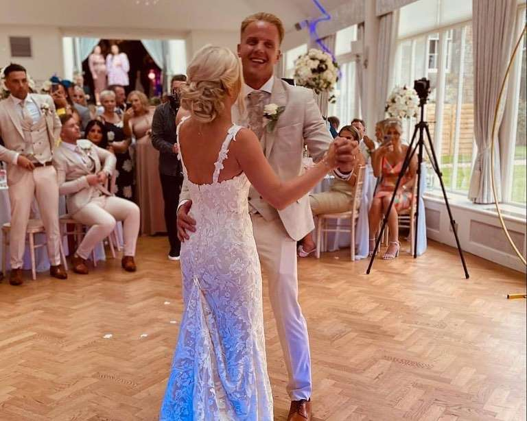 Danielle and Kyle Ferguson Carlowrie Castle 7th August 2021