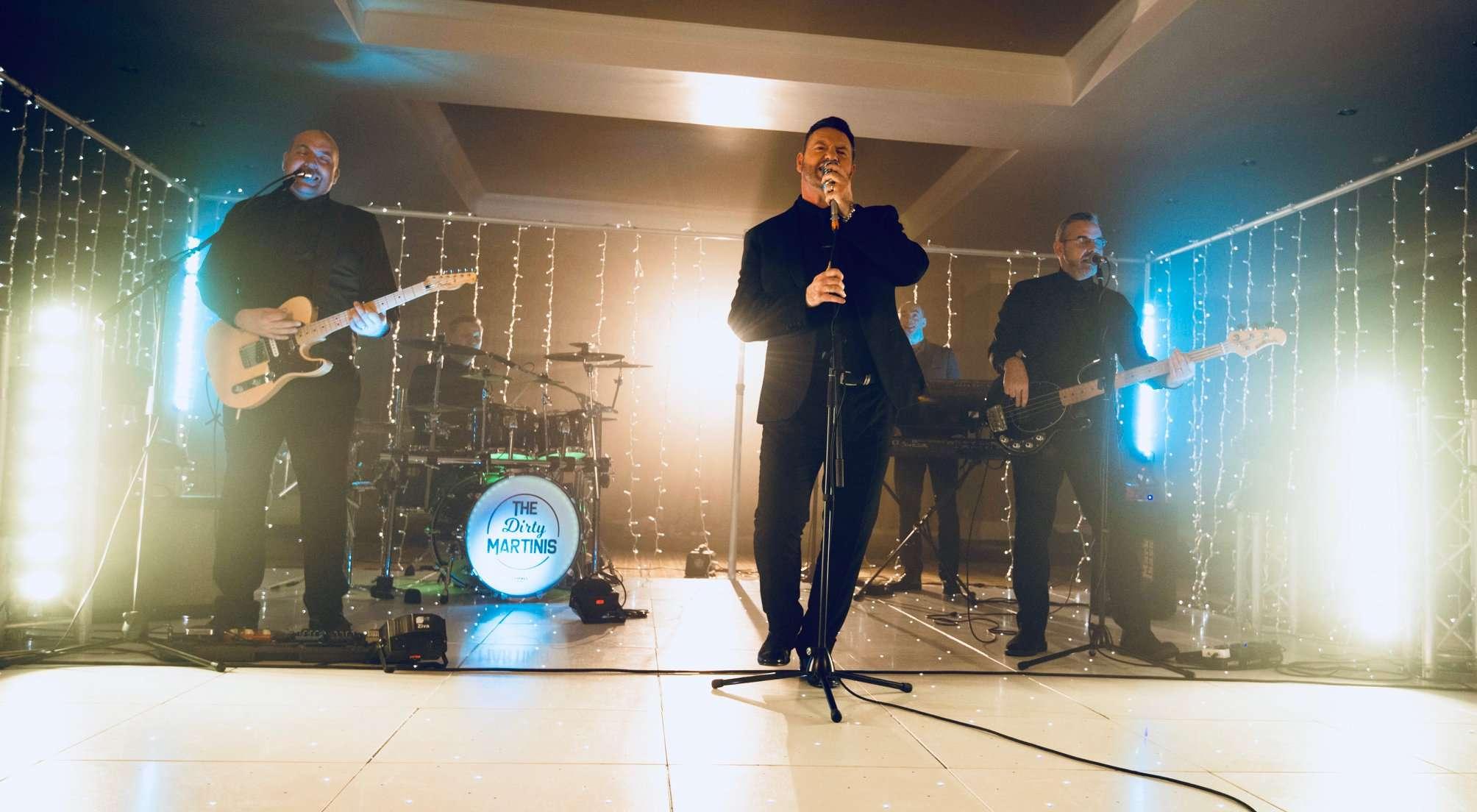 Most Popular Edinburgh Wedding Band The Dirty Martinis