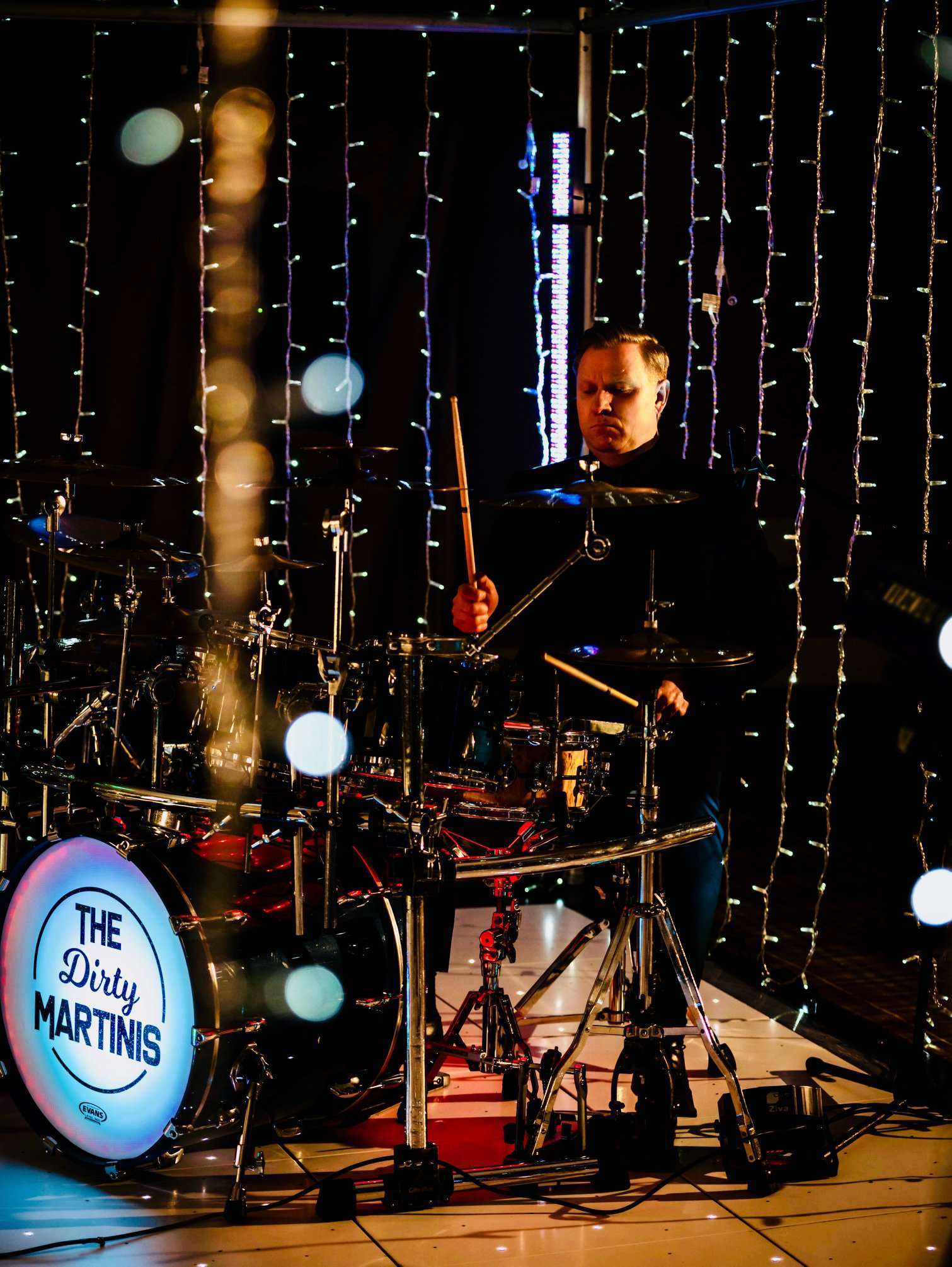 The Dirty Martinis Drummer