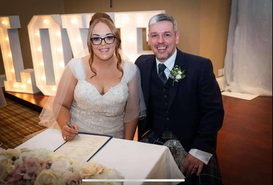 Fiona and Sean Gormley Craigsanquhar House 13th August 2021