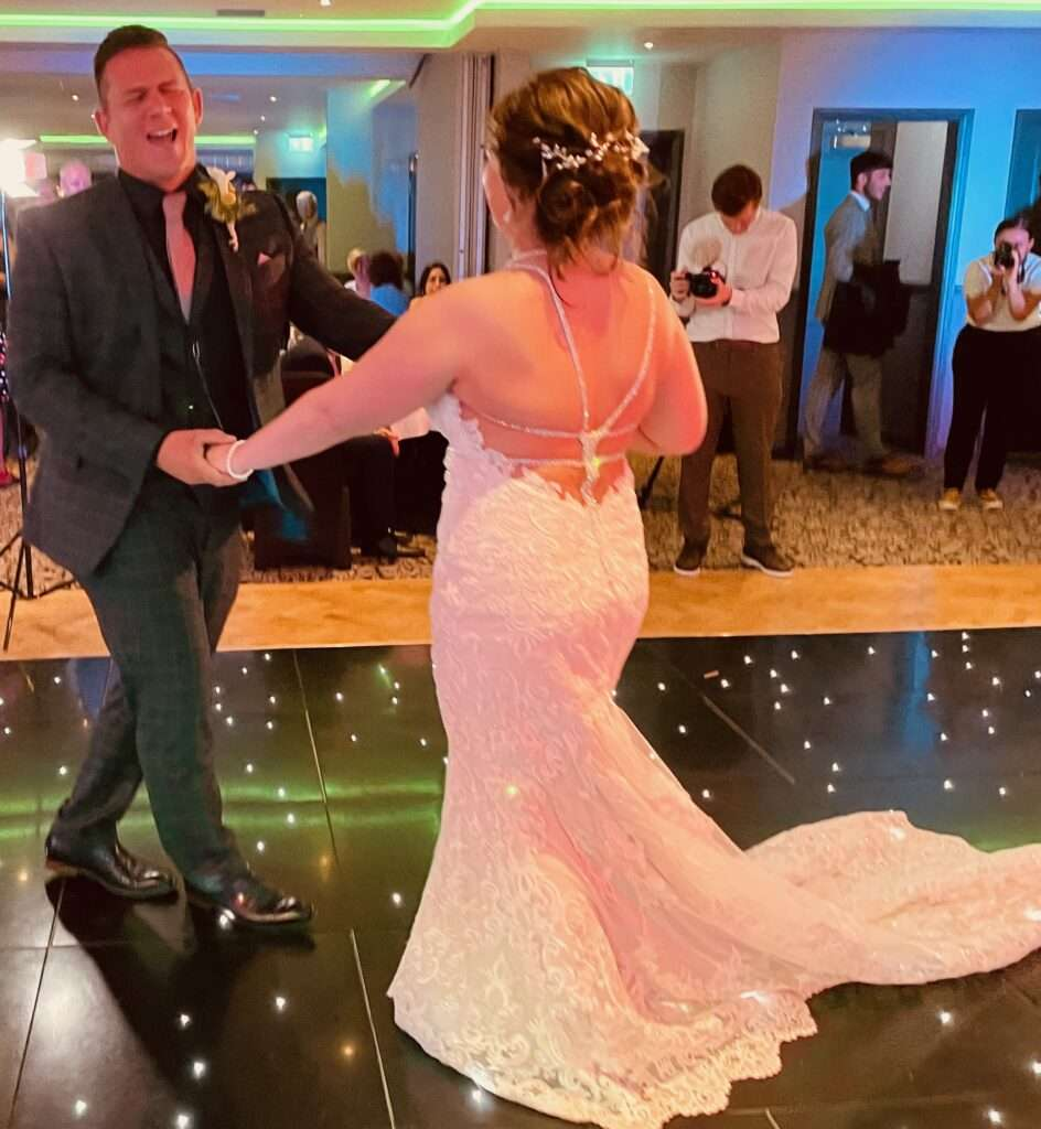 Pauline & Lee Bryce Double Tree Hilton South Queensferry 8th Aug 2021